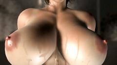 3D Umemaro : Young brunette girl licking ass of her boyfriend