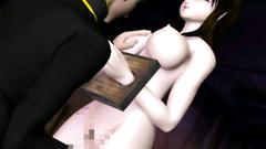 tight asian anime pussy fucked hard.