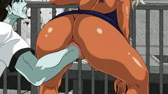 Rough Fisting And Hardcore Sex With Two Busty Hentai Babes
