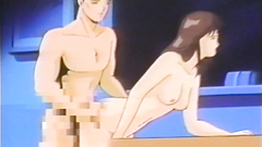 Brown-haired naked gal gets drilled hard in the classroom