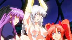 Hentai babes getting fucked in fetish BDSM toon