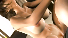 Hardcore bang, brutal boy fucks sweet cartoon pussy and anal hole