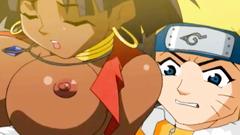 Uzumaki Naruto is licking asshole of sexy latina girl