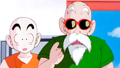 Two Dragon ball guys pump one hot blue haired cutie
