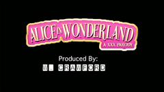 Alice in Wonderland : hardcore fucking with 3d blonde babe