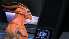 Lumina gets hardcore gang bag from Alien 3D monsters   Lumina vs 3