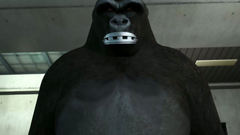 Giant 3D Beast fucks in the asshole young skinny slut with big tits
