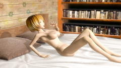 Green 3D Reptile monster with green cum loves fuck young beautiful blondes