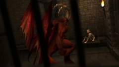 Horny red monster banged young 3d girl in all holes in hardcore porn