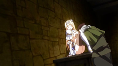 Poor blonde princess gets fucked by every creature in the castle