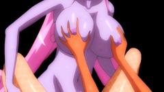 Big breasted fantasy chicks adores hardcore drilling in futanari toon