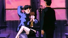 Innocent-looking delicious babes in erotic hentai toon