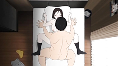 Experienced perv takes young babe's virginity - hentai toon