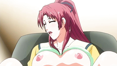 busty anime hottie tied and fucked