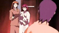 Rough and angry hentai porn cartoon with sexy girls