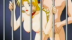 Hot cartoon blonde gets drilled from behind
