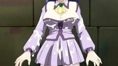 Big breasted anime schoolgirl hardcore fucked