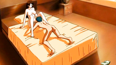 Deep and passionate fuck for naked anime girl