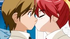 Sweet teenage couple make love after the school