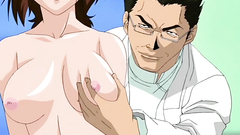 Perverted doctor nows how to seduce his sexy clients