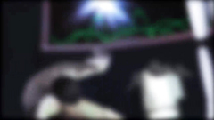 Alien robot fucks with male guy in 3d cartoon