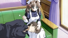 Young maid feels that her boss needs some love