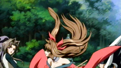 Amazing babes and evil horny monsters from anime