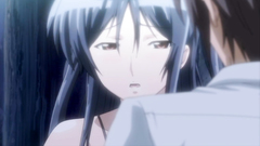 Big breasted hentai girls with long legs in erotic anime clip