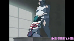 Dirty Old Man Fucks Tied-up Hentai Slave