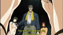 Bondage anime schoolgirl ass injection