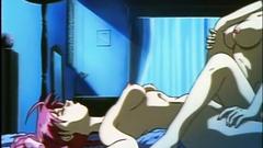 Sexy hentai in lesbian sex