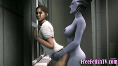 3D Cumpilation of Tiny Babes and Huge Cocks