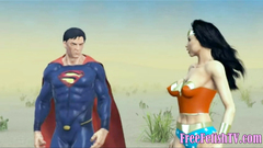 Superman Fucks Loli with his Krypton Dick