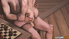 Gay The Witcher gets fucked missionary style
